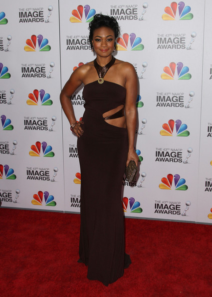 More Pics of Tatyana Ali Corset Dress (1 of 6) - Tatyana Ali Lookbook - StyleBistro