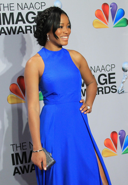 More Pics of Keke Palmer Hard Case Clutch (1 of 12) - Keke Palmer Lookbook - StyleBistro