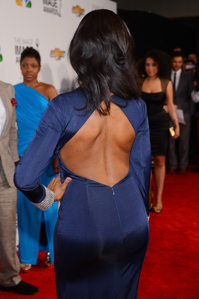 More Pics of Omarosa Manigault Long Straight Cut (5 of 13) - Omarosa Manigault Lookbook - StyleBistro