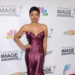 Emayatzy Corinealdi at the 44th Annual NAACP Image Awards 2013