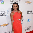 Shanola Hampton at the 44th Annual NAACP Image Awards 2013