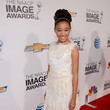 Amandla Stenberg at the 44th Annual NAACP Image Awards 2013
