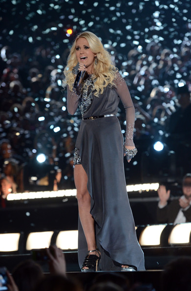 More Pics of Carrie Underwood Fishtail Dress (1 of 12) - Fishtail Dress Lookbook - StyleBistro