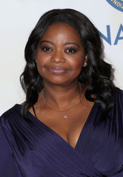Octavia Spencer attended the NAACP Image Awards sporting a very ladylike wavy hairstyle.