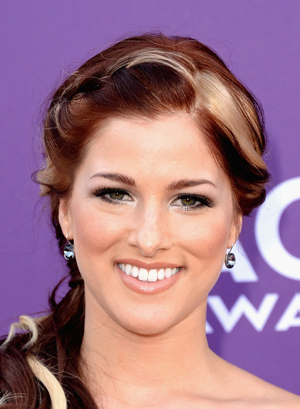 More Pics of Cassadee Pope Long Braided Hairstyle (1 of 16) - Long Braided Hairstyle Lookbook - StyleBistro