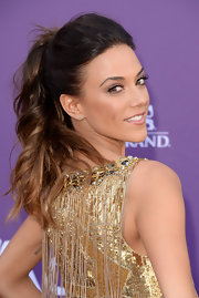 Jana Kramer's ponytail elegantly showed off her auburn curls at the 2013 ACM Awards.