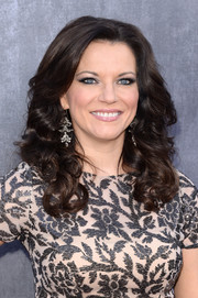 Martina McBride attended the ACM Awards wearing her hair in lush curls.