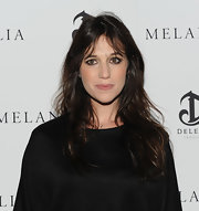 Charlotte Gainsbourg rocked sexy un-done locks at the Melancholia premiere during the annual New York Film Festival.