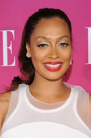 La La Anthony made a simple ponytail look so glam when she attended the Elle Women in Music celebration.