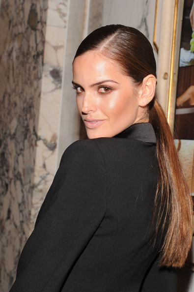 More Pics of Izabel Goulart Ponytail (1 of 2) - Izabel Goulart Lookbook - StyleBistro