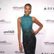 Yasmin Warsame at the 2013 amfAR Inspiration Gala New York