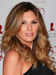 Daisy Fuentes wore her golden highlighted hair in big bouncy curls at the 50th anniversary celebration for St. Jude Children's Research Hospital.