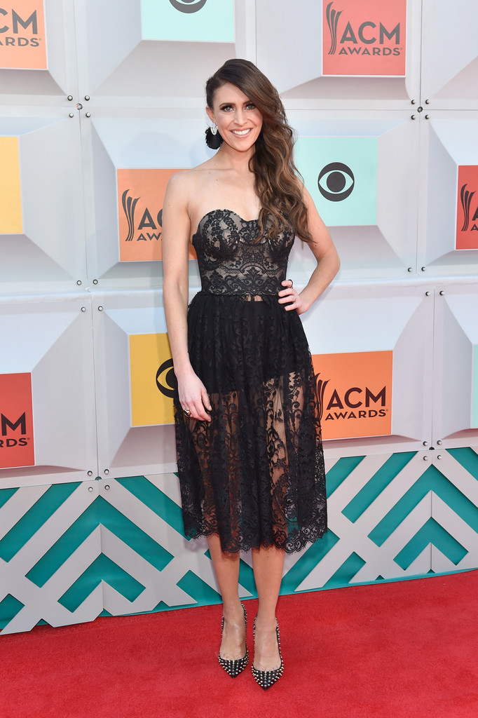 Kelleigh Bannen All The Looks From The 2016 Academy Of Country Music Awards Stylebistro