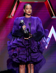 Rihanna rocked a huge gemstone ring by Chopard at the 2020 NAACP Image Awards.