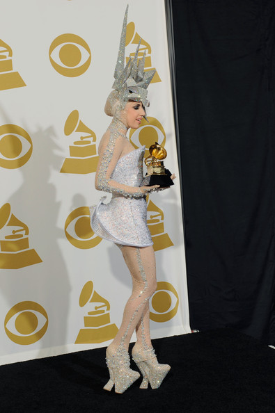 More Pics of Lady Gaga Decorative Hat (1 of 24) - Lady Gaga Lookbook - StyleBistro