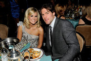 Singer Carrie Underwood and professional hockey player Mike Fisher during the 52nd Annual GRAMMY Awards - Salute To Icons Honoring Doug Morris held at The Beverly Hilton Hotel on January 30, 2010 in Beverly Hills, California.