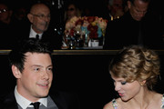 Taylor Swift and Cory Monteith Photo
