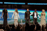 Celine Dion and Usher Photo
