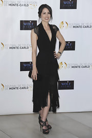 The lace and fringe combination on Michelle Borth's dress was spectacular.