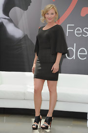 The only word to describe Kelli Giddish's sandal pumps is hot.