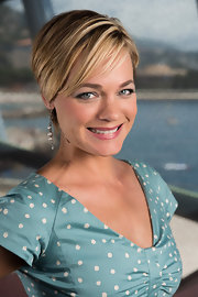 Crystal Allen sported a short but super sweet 'do for her Monte Carlo TV Festival portrait session.