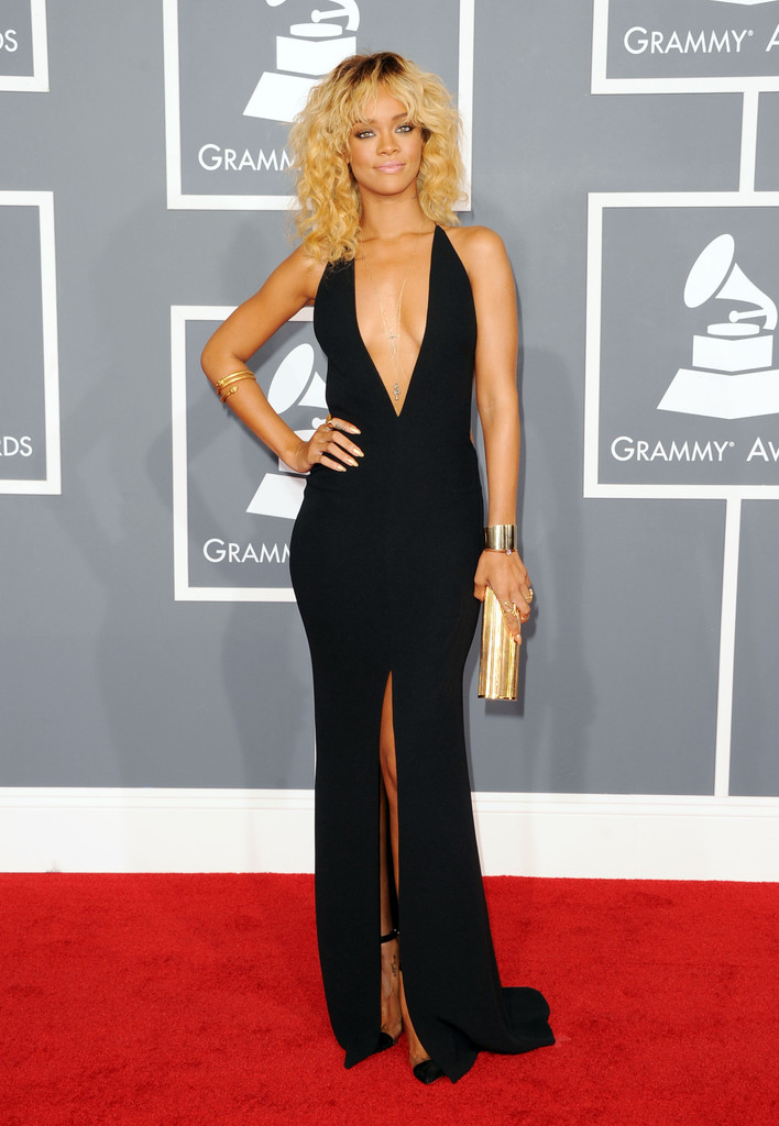Rihanna in The 54th Annual GRAMMY Awards - Arrivals
