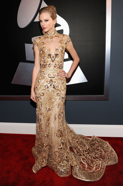 Taylor+Swift in The 54th Annual GRAMMY Awards - Red Carpet