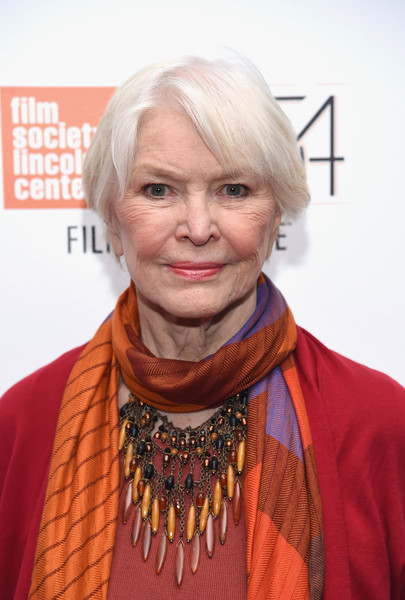 Ellen Burstyn sported a casual short bob at the New York Film Festival photocall for 'Bright Lights.'