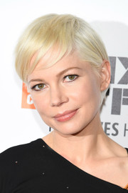 Michelle Williams looked adorable, as always, with her signature platinum-blonde pixie at the New York Film Festival premiere of 'Certain Women.'