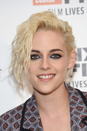 Kristen Stewart brought her bad-girl style to the New York Film Festival with this messy short 'do.