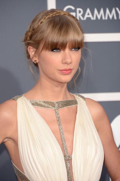 More Pics of Taylor Swift Braided Updo (4 of 24) - Taylor Swift Lookbook - StyleBistro