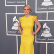 Carrie Keagan at the Grammy Awards 2013
