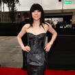 Carly Rae Jepsen in Roberto Cavalli at the Grammy Awards 2013