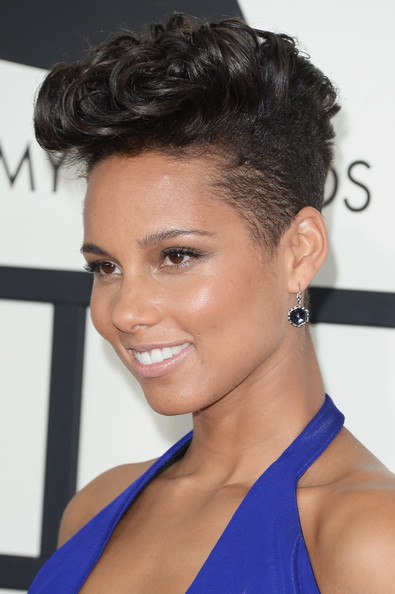 More Pics Of Alicia Keys Flat Top 8 Of 17 Short Hairstyles