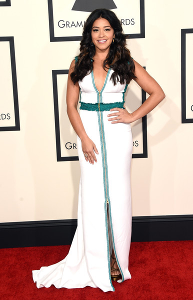 In Christos Costarellos At The 2015 Grammy Awards