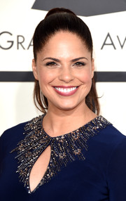Soledad O'Brien sported a low-key yet elegant ponytail at the Grammys.