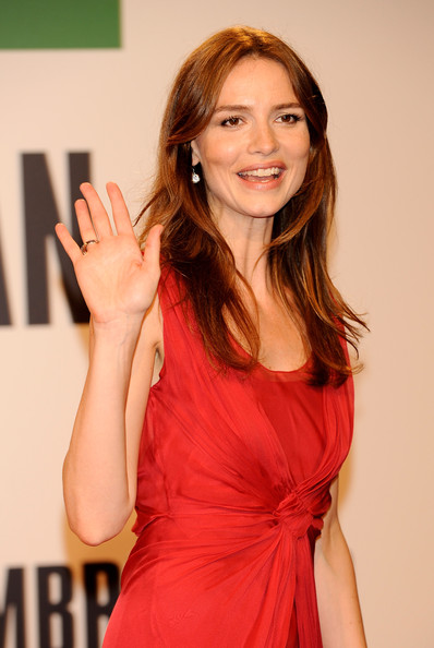 More Pics of Saffron Burrows Evening Dress (1 of 6) - Saffron Burrows Lookbook - StyleBistro [saffron burrows,hair,brown hair,long hair,cocktail dress,dress,layered hair,smile,premiere,san sebastian film festival: closing ceremony,closing ceremony,san sebastian film festival,san sebastian,spain,kursaal palace]