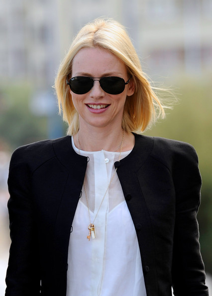 More Pics of Naomi Watts Aviator Sunglasses (1 of 29) - Naomi Watts Lookbook - StyleBistro