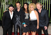 Karen Fairchild's dress at the BMI Country Awards was part animal-print, part star-print, and completely chic.