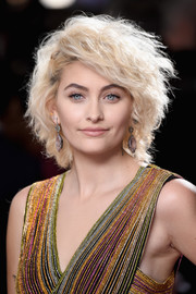 Paris Jackson looked fabulous with her teased curls at the 2017 Grammys.
