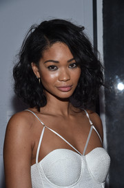 Chanel Iman attended the Bombay Sapphire Artisan Series finale wearing a messy-chic curled-out bob.