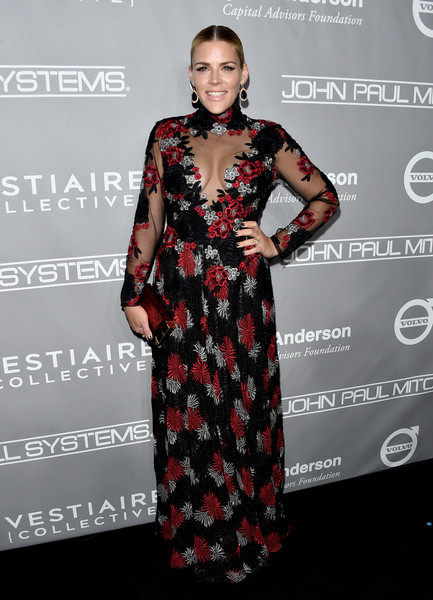 Busy Philipps in Naeem Khan