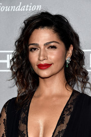 Camila Alves was sexily coiffed with this messy, loose braid at the Baby2Baby Gala.