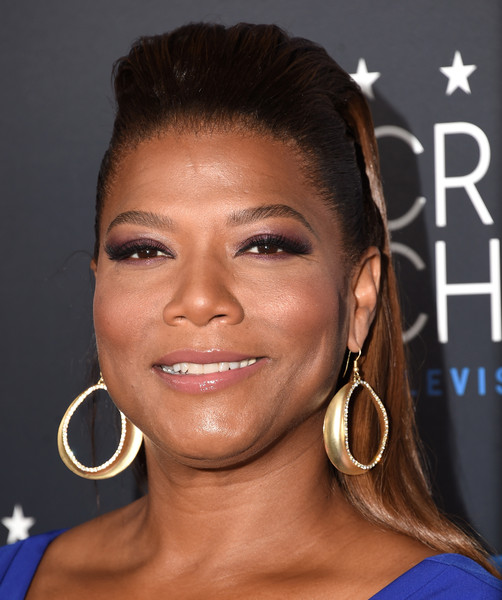 Queen Latifah looked oh-so-cool with her teased 'do at the Critics' Choice Television Awards.