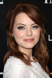 Emma Stone attended the 5th Annual 'Essence' Black Women in Hollywood luncheon wearing a hint of sheer berry-pink lipstick.