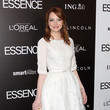 Emma Stone's Girly White Elie Saab Confection