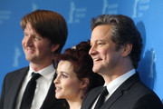 Tom Hooper and Helena Bonham Carter Photo