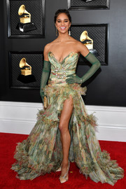 Misty Copeland paired her frock with bejeweled pumps.