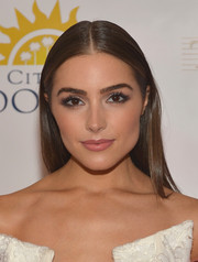 Olivia Culpo could wear the most basic of hairstyles and still come out looking like a goddess!