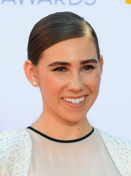 More Pics of Zosia Mamet Evening Dress (1 of 11) - Zosia Mamet Lookbook - StyleBistro